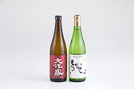 A124 村上地酒セットA(〆張鶴・大洋盛)