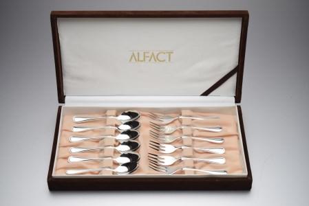 ALFACT/洋白銀器マリアン コーヒーヒメフォーク12本セット