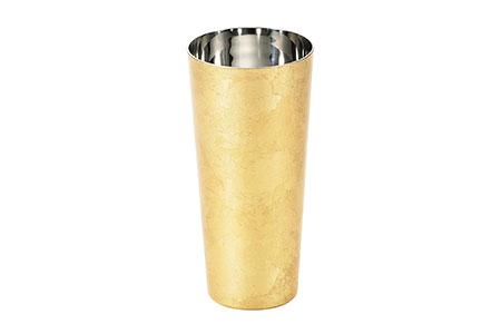 箔衣 2重ピルスナーカップ【桐箱入】越前和紙コースター添え