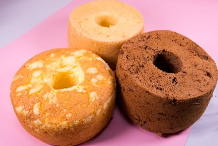 さどっ粉シフォンケーキ 3種詰め合わせ