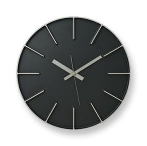 Edge Clock/ブラック(AZ-0115 BK)Lemnos レムノス 時計