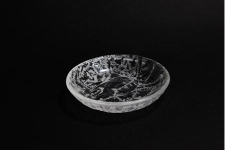 【ガラス】SKIN・丸小皿(2枚セット)
