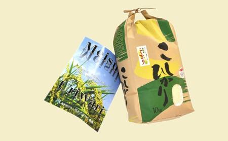 令和元年産福井県若狭町コシヒカリ(一等米)10kg(名水うりわり農園)