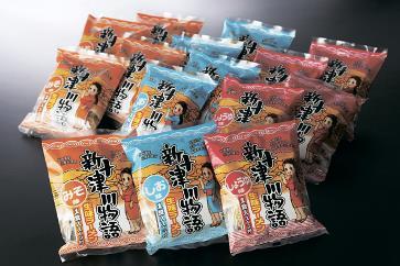 1015 新十津川物語ラーメンセット(乾麺・15食)