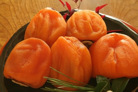 1-1-70 南アルプス天空舎が贈る「桃園産あんぽ柿百目2L,L,Mを6~12個」