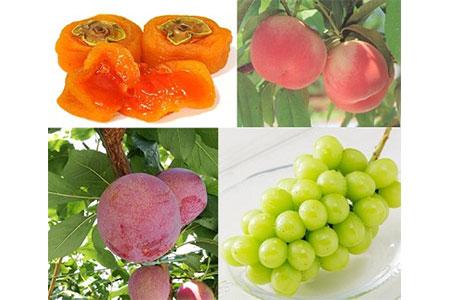 5-1-8 南アルプス天空舎が贈る「南アルプス四季の甘い果実4品」2