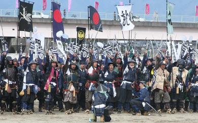 1 川中島合戦戦国絵巻足軽役への参加