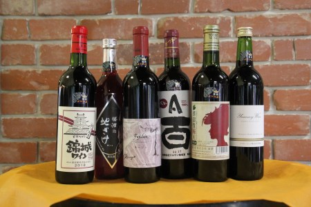 D-610.甲州市推奨ワイン赤6本セット