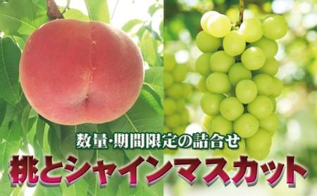 山梨の桃・シャインマスカットセット