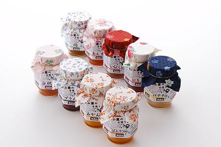 富士山麓の無添加手作りジャム 9種からおまかせ3本セット