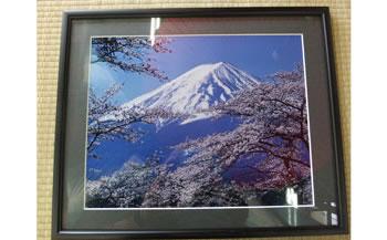 D028 額入り富士山写真【125P】