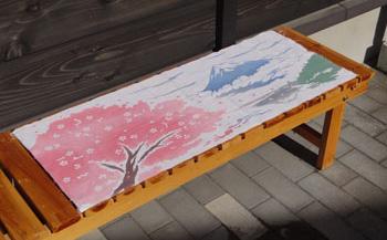 D018 オリジナル富士に桜手拭【15P】