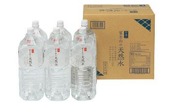 H002 「富士山の天然水」2Lペットボトル【15P】