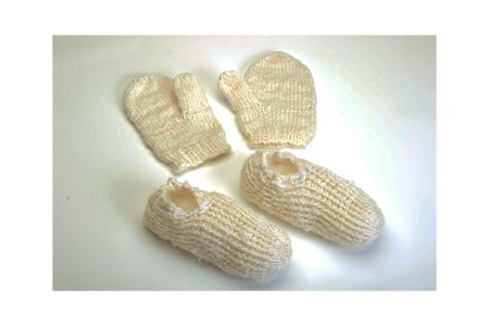 【2614‐0017】大石娘おやすみソックス&手袋セット