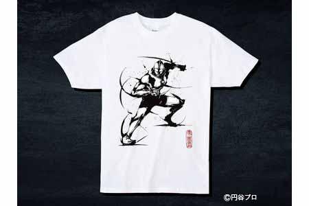 【2614-0086】こうじょう雅之【武人画Tシャツ】 ウルトラマンL