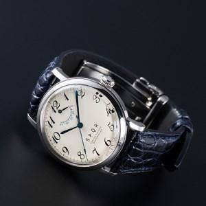 080-003 ≪腕時計 機械式 ≫THE SPQR(文字盤アイボリー)
