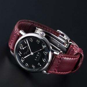 080-004 ≪腕時計 機械式≫THE SPQR(文字盤ブラック)