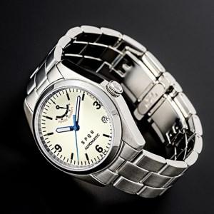 025-007 ≪腕時計 機械式≫SPQR Ventuno pr(アイボリー)