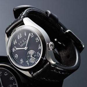 025-011 ≪腕時計 機械式≫SPQR Ventuno ss(ブラック)