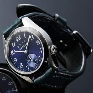 025-012 ≪腕時計 機械式≫SPQR Ventuno ss(ネイビー)