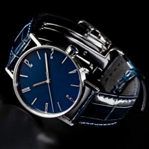 050-012 ≪腕時計 クウォーツ式≫SPQR urushi kiso 濃藍(こいあい)