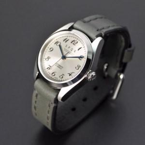025-022 ≪腕時計 機械式≫Ventuno st 復刻版(文字盤ローズグレー)