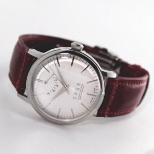 080-005 ≪腕時計 機械式≫THE SPQR classico(文字盤シルバー)