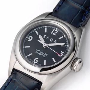 013-021 ≪腕時計 機械式≫SPQR Ventuno fs 文字盤ブラック【ss】