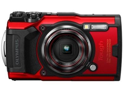 【ARR-01】コンパクトデジタルカメラ Tough TG-6 RED(レッド)