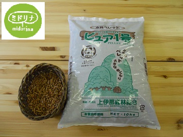 【AB-20】木質ペレット ピュア1号 (10kg×6袋)