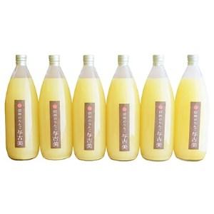 【AB-56】限定!りんごポリフェノールを多く含んだ 100%与古美のりんごジュース6本セット