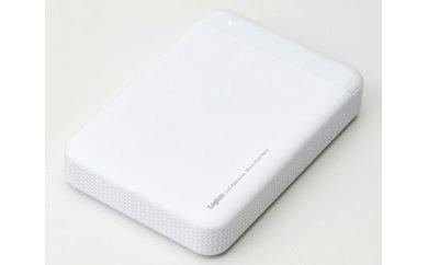 【B-12】ポータブルハードディスクユニット(1TB/ホワイト)