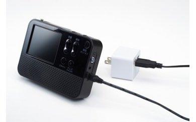 【B-13】ワイドFM対応ワンセグラジオ