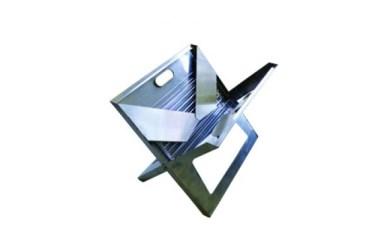 【B-16】折りたたみ式ポータブルBBQグリル 「Notebook(ノートブック) SS」