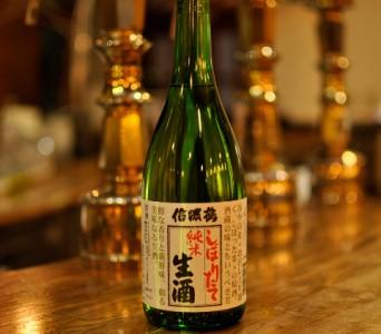 信濃鶴 生酒(720ml)