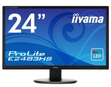 [C]iiyama製 24型液晶ディスプレイ「iiyama ProLite E2483HS-B1」