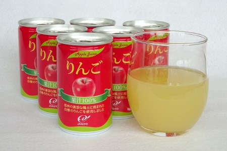 [B06]長野県りんご使用「りんごジュース」30缶