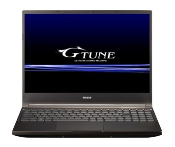 [M]「made in 飯山」マウスコンピューターOffice Home and Business 2019搭載 15.6型ノートPC「G-Tune H5-B-IIYAMA」