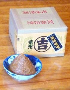 [D04]うまい味噌汁はこの味噌から! 加賀屋醸造「玉造り一年醸造味噌」2kg