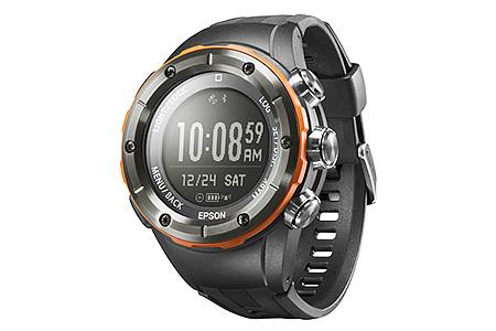 EPSON 登山用GPSウォッチ「Wristable GPS for Trek」MZ-500L( リンクオレンジ・トレッキングギア)