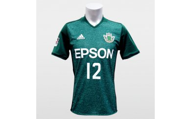 【Mサイズ】2017 松本山雅FCオーセンティックユニフォーム 半袖(フィールドプレイヤー1st)No12