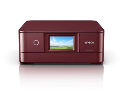 EPSON プリンター カラリオ多機能モデル レッド EP-883AR