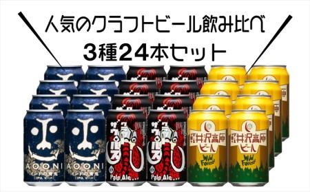インドの青鬼IPAと軽井沢高原 ビールのクラフトビール飲み比べセット