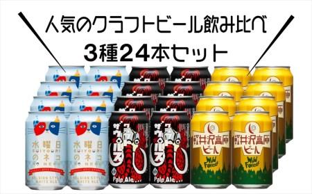 水曜日のネコと軽井沢高原 ビールのクラフトビール飲み比べセット