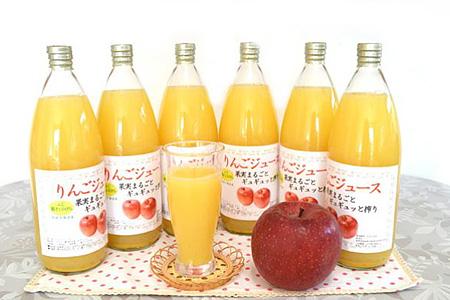 001-012 < ジュース > 果汁100% りんごジュース