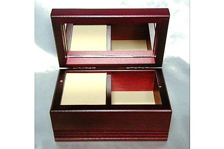 001-018 《 18弁オルゴール 》 木製宝石箱