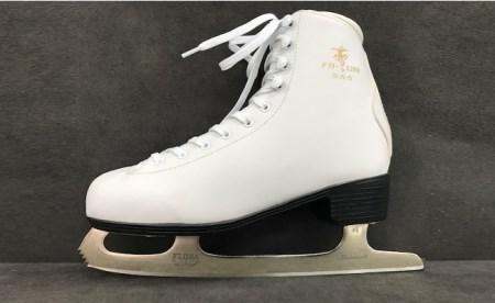 004-003 《 スケート靴 》 S・S・S フィギュアスケート靴(SET-46)