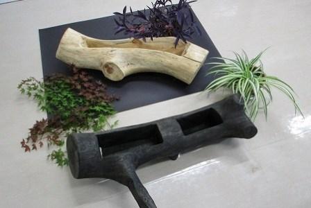 【ふるさと納税】障がい者支援施設長野県西駒郷の手づくり木製プランター1個