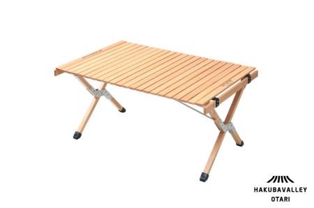 【令和4年1月中旬以降発送】HAKUBA VALLEY OTARI オリジナルアウトドアテーブル90