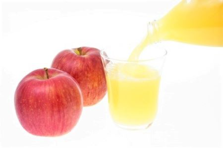 [0359] 飯綱産サンふじ果汁100%りんごジュース 1000mL×6本入り